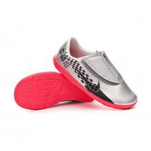 Futsal Boot Mercurial Vapor XIII Club IC Neymar Jr v. Niño Chrome-Black-Red orbit-Platinum tint