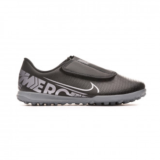 Zapatilla Nike Mercurial Vapor XIII Club Turf v. Niño Black-Metallic cool grey