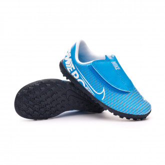 Mercurial Vapor XIII Club Turf v. Niño Blue hero-White-Obsidian