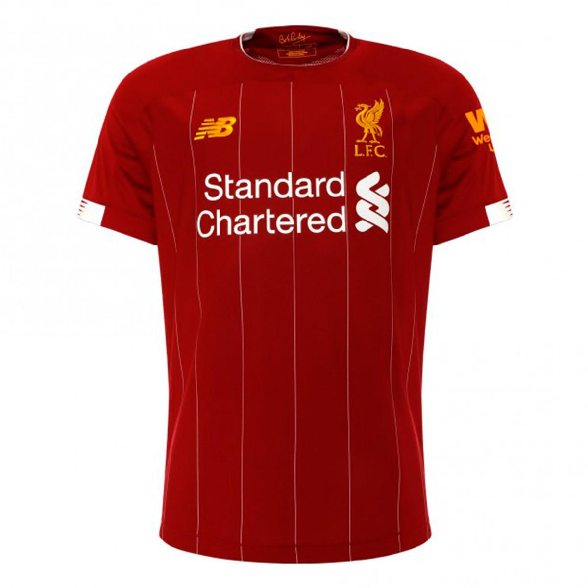 Tienda Fútbol Solution | Camiseta 1ª Equipación Liverpool FC