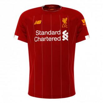 Jersey  New Balance Liverpool FC Primera Equipación 2019-2020 Niño Red