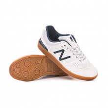 Futsal Boot Audazo v4 Control Niño White