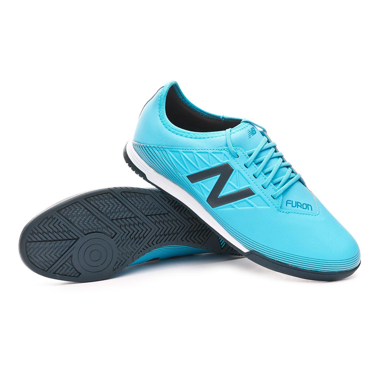 Chaussure de futsal New Balance Furon 5 Dispach Indoor Bayside ...