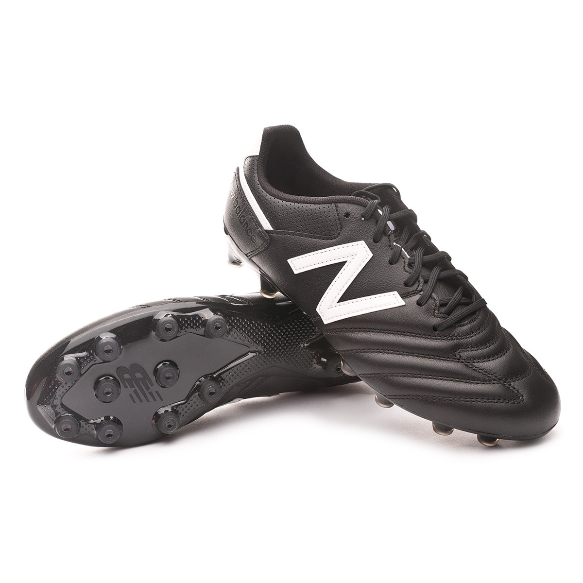 new balance black and white football boots