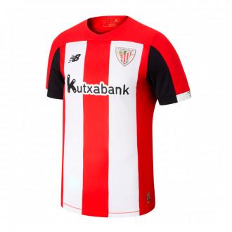 Playera New Balance AC Bilbao Primera Equipación 2019-2020 Niño Red-White
