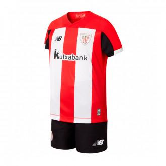 Conjunto  New Balance AC Bilbao Primera Equipación 2019-2020 Niño (sin medias) Red-White-Black