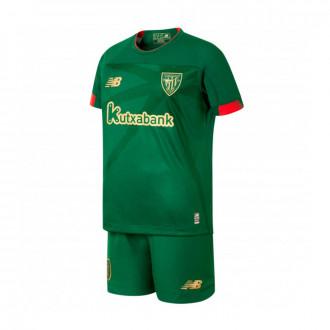 Conjunto New Balance AC Bilbao Segunda Equipación 2019-2019 Niño (sin medias) Green