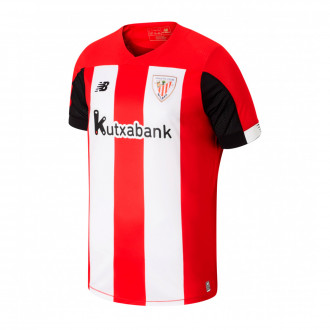 Playera  New Balance AC Bilbao Primera Equipación 2019-2020 Red-White