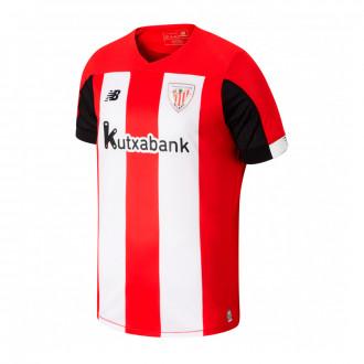 Playera New Balance AC Bilbao Primera Equipación 2019-2020 Red-White