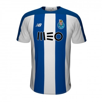 Playera  New Balance FC Porto Primera Equipación SS 2019-2020 Niño Blue-White