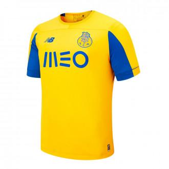 Camisola  New Balance FC Porto Equipamento secundário SS 2019-2020 Crianças Yellow-Blue