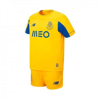 Conjunto  New Balance FC Porto Segunda Equipación 2019-2020 Niño ( sin medias ) Yellow-Blue