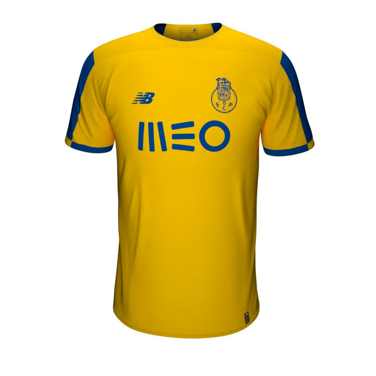 check out eacb6 331a2 Camiseta FC Porto Segunda Equipación SS 2019-2020 Yellow-Blue