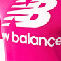 Camiseta Essentials Stacked Logo Pink