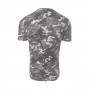 Camiseta Printed Essentials Stacked Logo Camo
