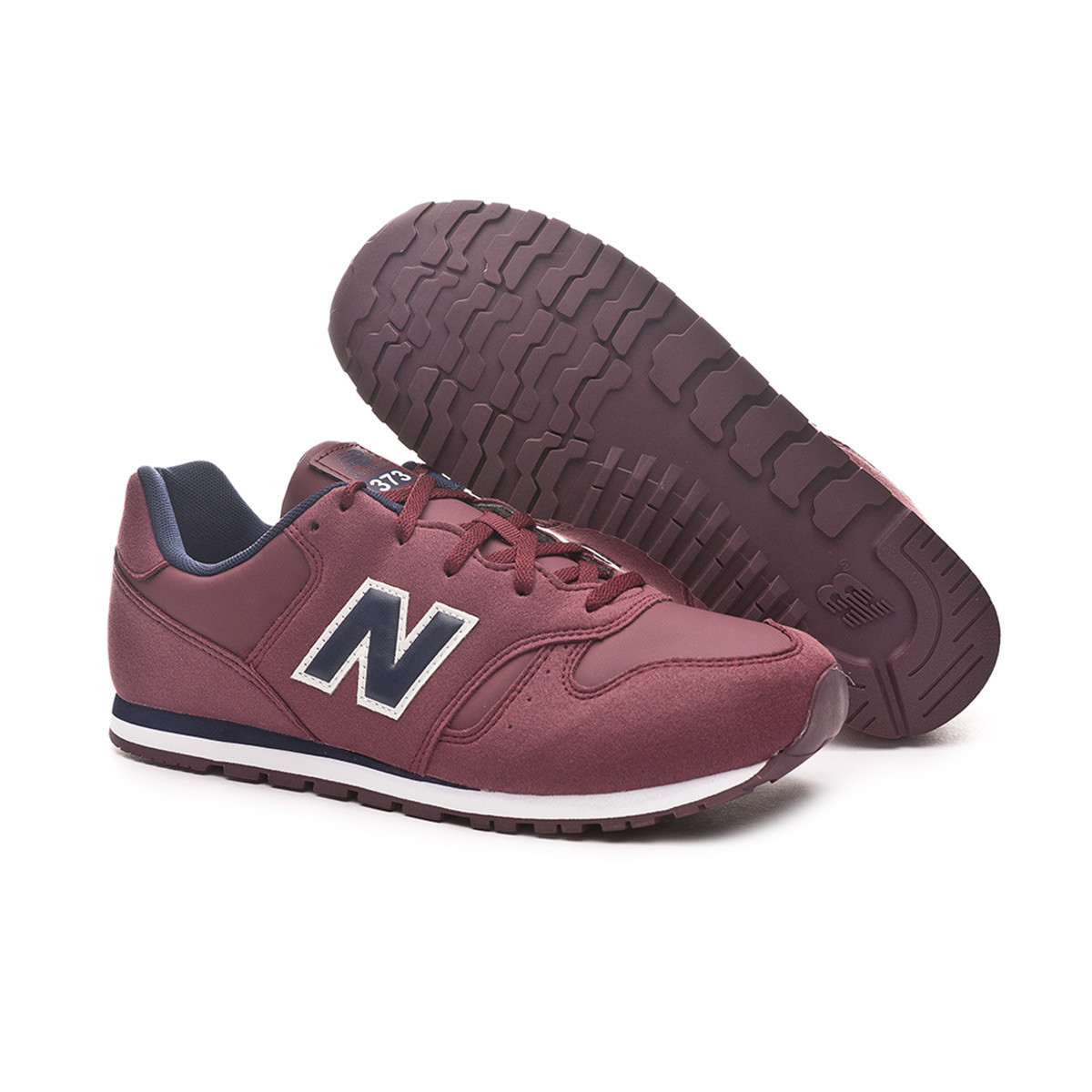 super popular a8103 2a04d Zapatilla 373 Burgundy
