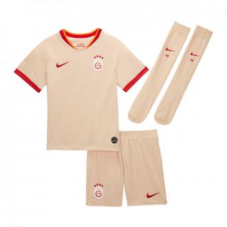 Conjunto Nike Galatasaray SK Breathe Segunda Equipación 2019-2020 Niño Desert ore-Pepper red