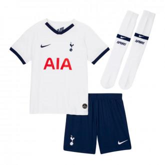 Conjunto Nike Tottenham Hotspur Breathe Primera Equipación 2019-2020 Niño White-Binary blue