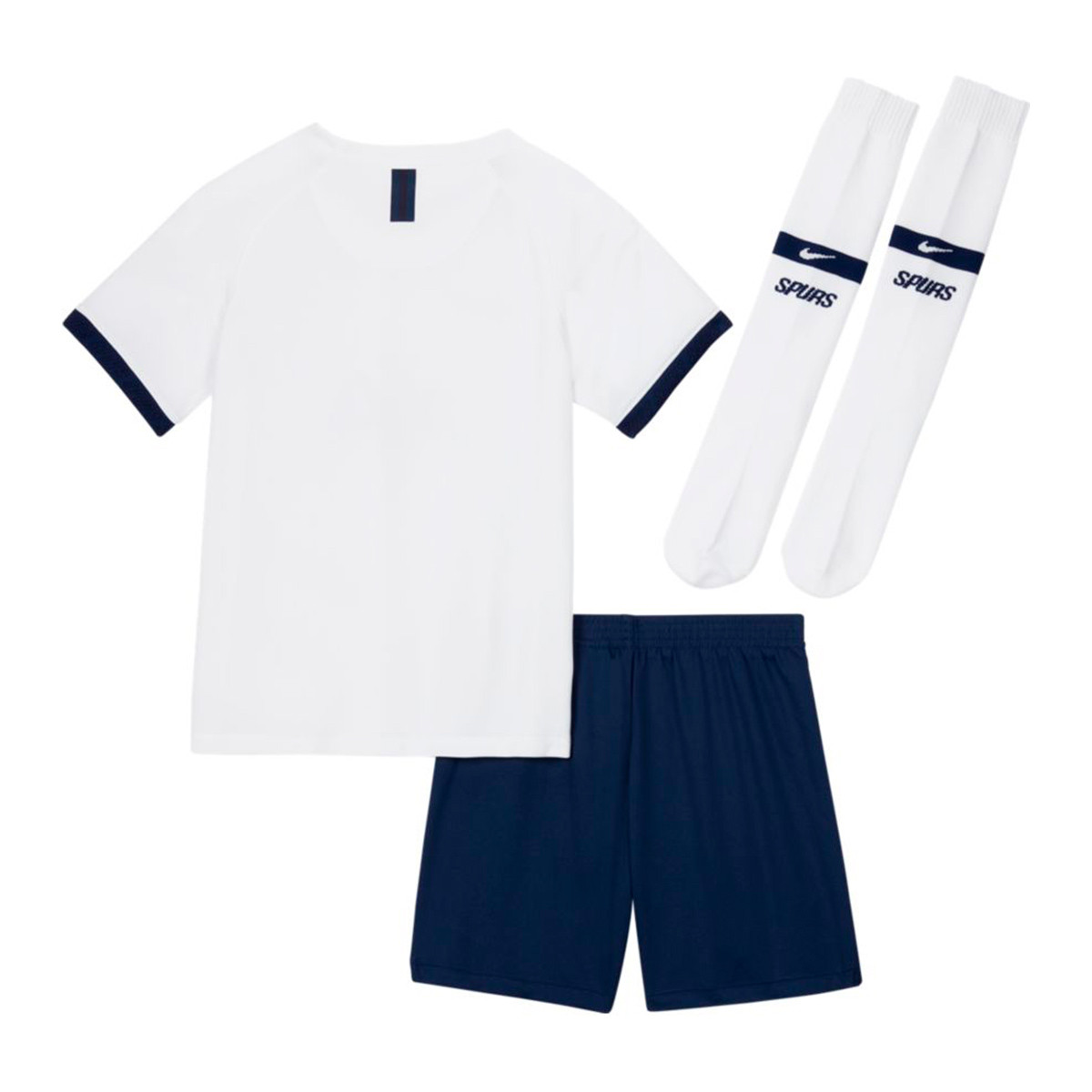 Kit Nike Tottenham Hotspur Breathe Primera Equipacion 2019 2020 Nino White Binary Blue Football Store Futbol Emotion