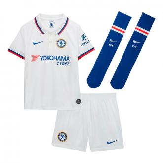 Conjunto Nike Chelsea FC Breathe Segunda Equipación 2019-2020 Niño White-Rush blue