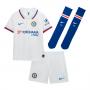 Conjunto Chelsea FC Breathe Segunda Equipación 2019-2020 Niño White-Rush blue