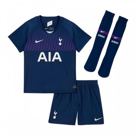 Kit Nike Tottenham Hotspur Breathe Segunda Equipacion 2019 2020 Nino Binary Blue White Football Store Futbol Emotion