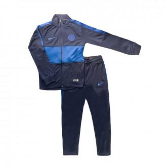 Fato de treino Nike Chelsea FC Dry Strike 2019-2020 Niño Obsidian-Rush blue
