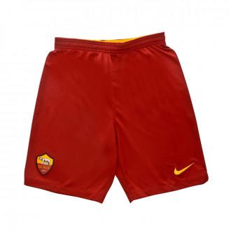 Calções Nike SL Roma Breathe Stadium Primera Equipación 2019-2020 Niño Team crimson-University gold