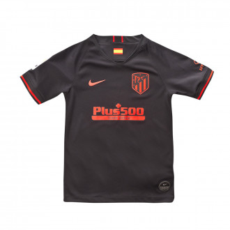 Camiseta  Nike Atletico de Madrid Breathe Stadium Segunda Equipación 2019-2020 Niño Black-Challenge red