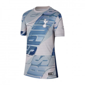 Playera Nike Tottenham Hotspur Dry 2019-2020 Niño Atmosphere grey-Binary blue-White