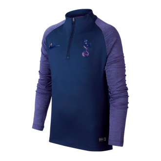 Playera Nike Tottenham Hotspur Dry Strike Dril 2019-2020 Niño Binary blue-Action grape