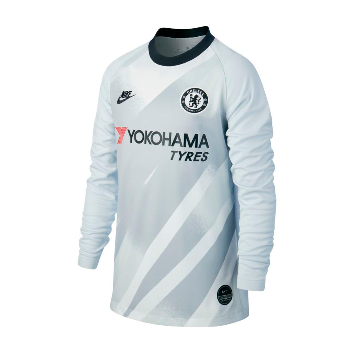 los angeles 12f5c 57e99 Camiseta Chelsea FC Breathe Stadium Portero 2019-2020 Niño CL Pure  platinum-Black