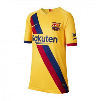 Camisola  Nike FC Barcelona Breathe Stadium Segunda Equipación 2019-2020 Niño Varsity maize