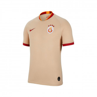 Camiseta Nike Galatasaray SK Breathe Stadium Segunda Equipación 2019-2020 Niño Desert ore-Pepper red