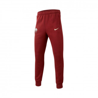 Pantaloni lunghi Nike SL Roma GFA 2019-2020 Bambino Dark team red-Light cream
