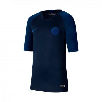 Camiseta Nike Chelsea FC Breathe Strike 2019-2020 Niño Obsidian-Rush blue