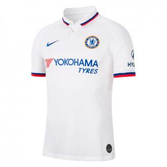 Playera Nike Chelsea FC Breathe Stadium Segunda Equipación 2019-2020 White-Rush blue