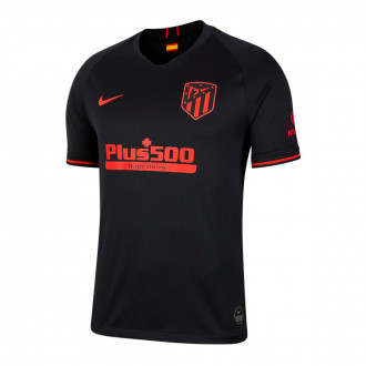 Playera Nike Atletico de Madrid Breathe Stadium Segunda Equipación 2019-2020 Black-Challenge red