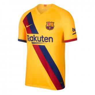 Camisola  Nike FC Barcelona Breathe Stadium Segunda Equipación 2019-2020 Varsity maize