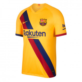 Jersey  Nike FC Barcelona Breathe Stadium Segunda Equipación 2019-2020 Varsity maize