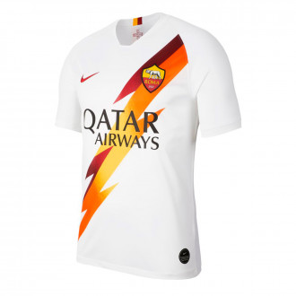 Maglia Nike AS Roma Breathe Stadium Away 2019-2020 White-team crimson