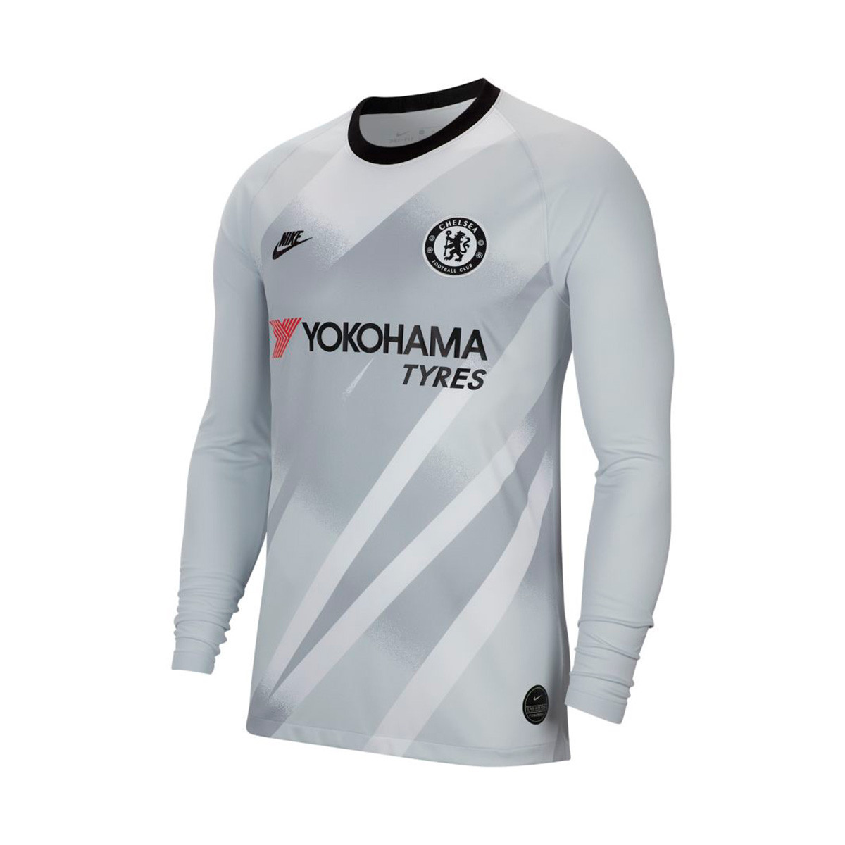 sports shoes c4ebd 797a3 Camiseta Chelsea FC Breathe Stadium Portero 2019-2020 Pure platinum-Black