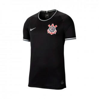 Camisola Nike SC Corinthians Breathe Stadium Equipamento Suplente 2019-2020 Black-White