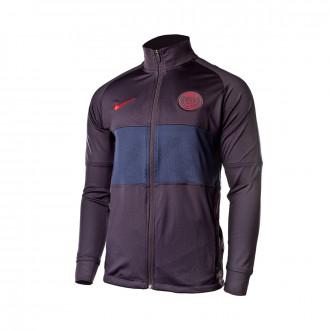 Casaco Nike Paris Saint-Germain Dry Strike 2019-2020 Oil grey-University red