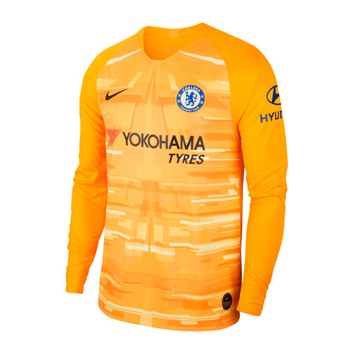 save off 6caa6 a6979 Camiseta Chelsea FC Breathe Stadium Portero 2019-2020 University gold-Black