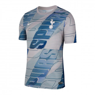 Playera Nike Tottenham Hotspur Dry 2019-2020 Atmosphere grey-Binary blue-White