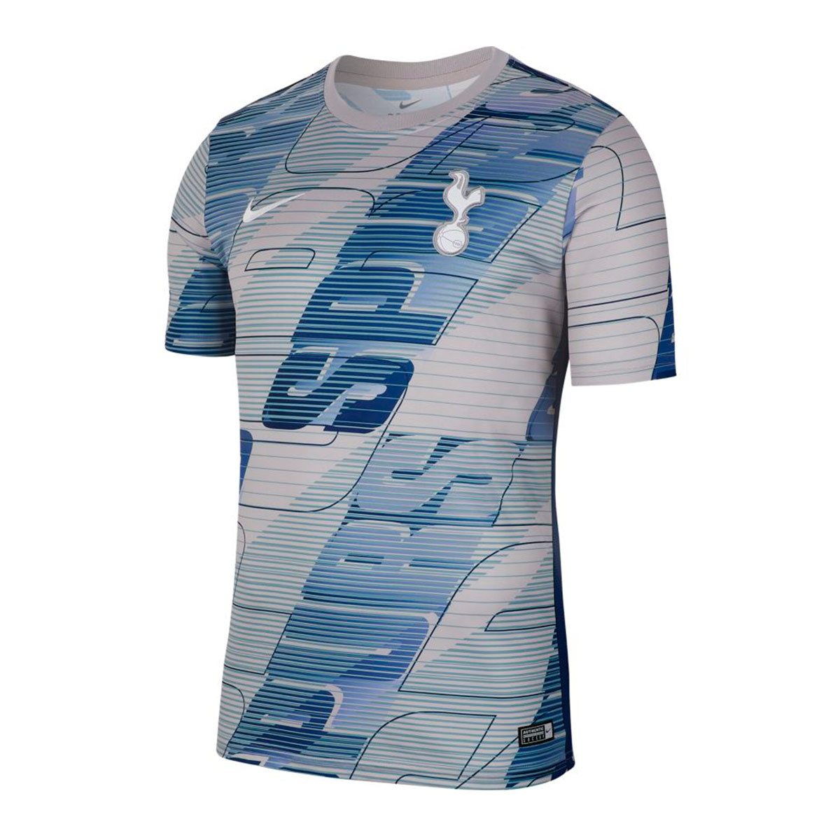 the latest ade2a d018d Camiseta Tottenham Hotspur Dry 2019-2020 Atmosphere grey-Binary blue-White