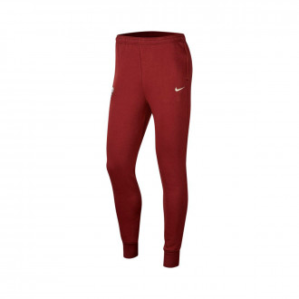 Pantaloni lunghi Nike SL SL Roma GFA 2019-2020 Dark team red-Light cream