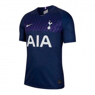 Playera  Nike Tottenham Hotspur Breathe Stadium Segunda Equipación 2019-2020 Binary blue-White