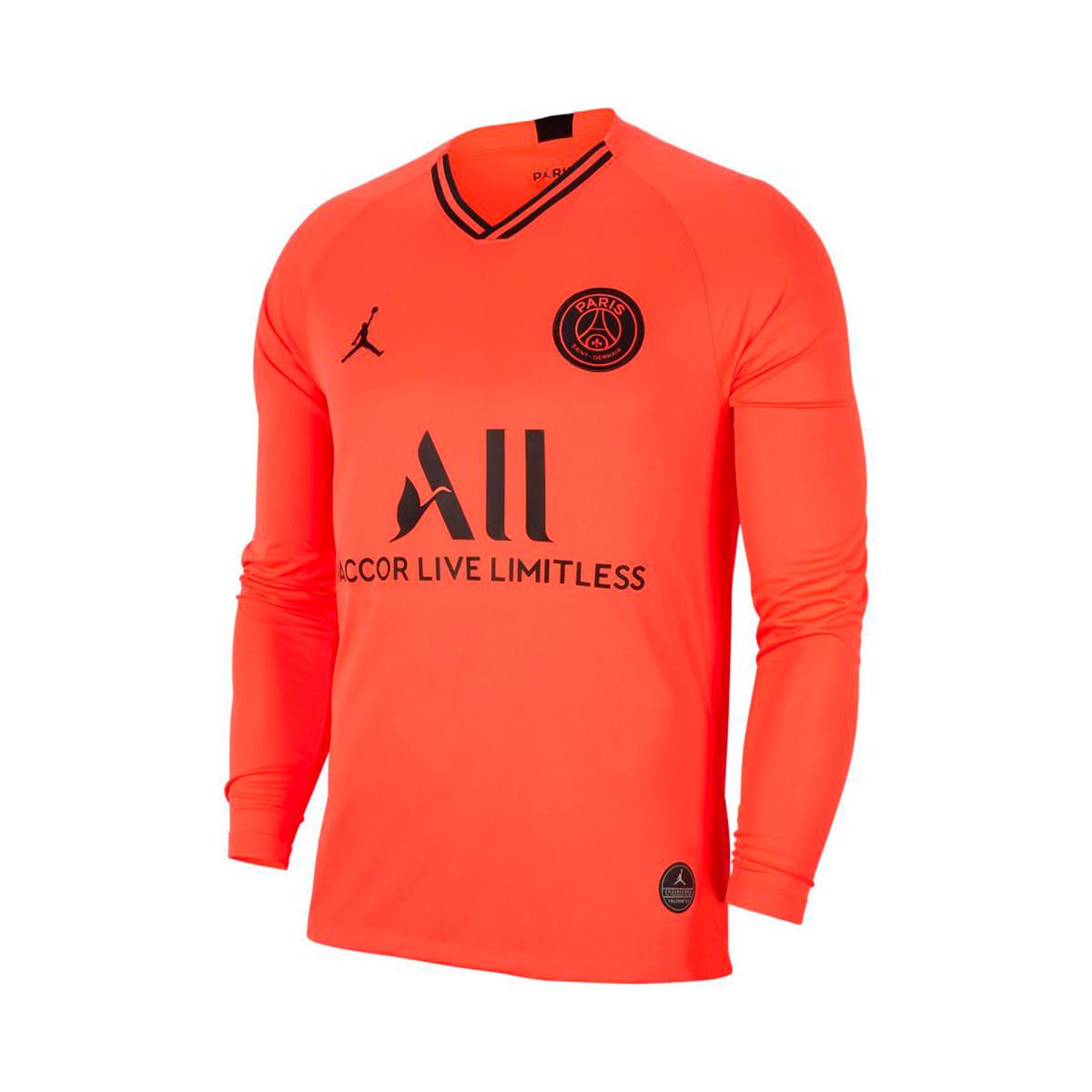 Camiseta Nike Paris Saint Germain Breathe Stadium Segunda Equipacion 2019 2020 Infrared Black Tienda De Futbol Futbol Emotion